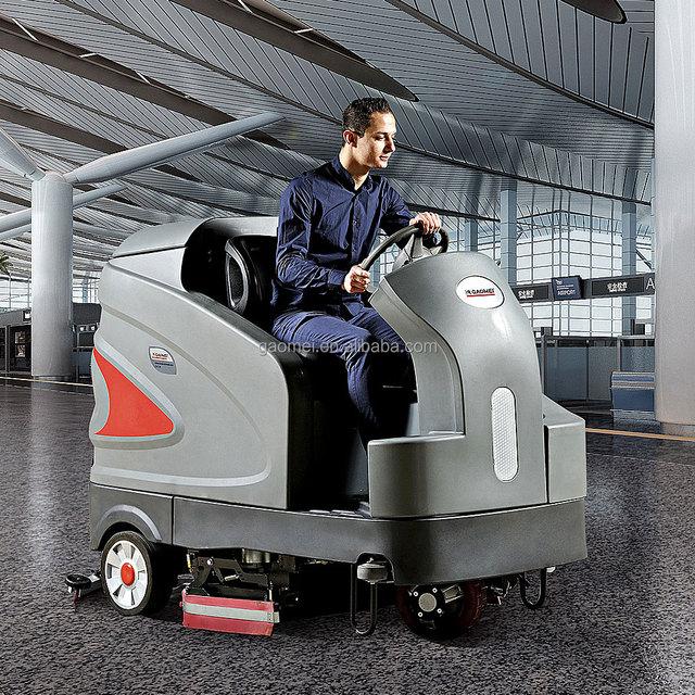 Floor Scrubber Machine Concrete Floor Cleaning Equipment