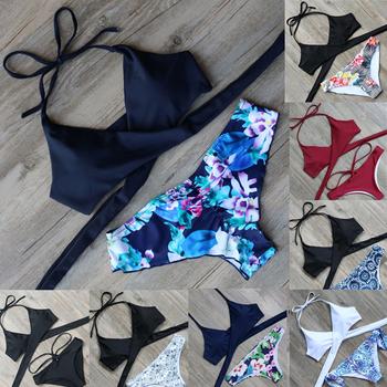 c6ffc09638 YOUME Hot Swimwear Bandage Bikini 2016 Sexy Beach Swimwear Women Swimsuit  Bathing Suit Brazilian Bikini Set