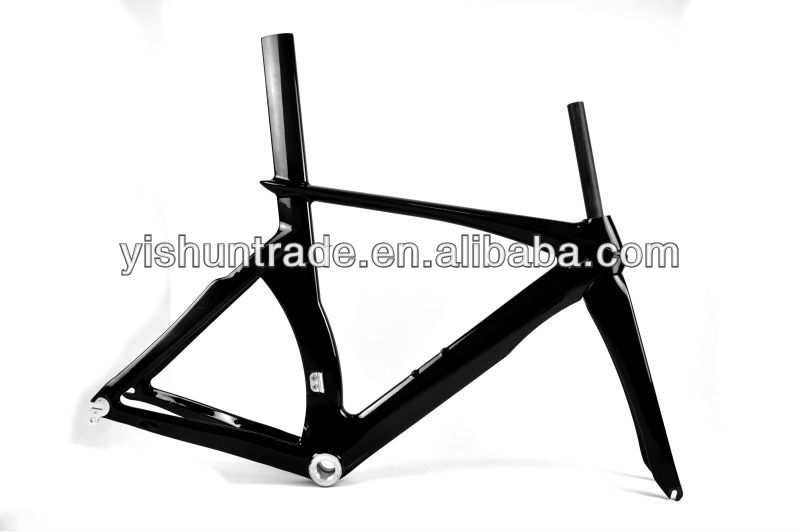 2014 YISHUNBIKE Quality Assurance 780mm carbon TT frameset BSA/BB30 Time Trial carbon fiber frames chinese