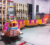 Kiddie amusement kids ride on battery train set track train