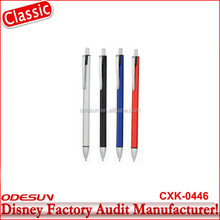 Disney Universal NBCU FAMA BSCI GSV Carrefour Factory Audit Manufacturer Cheap School And Office Used 2016 Ball Pen
