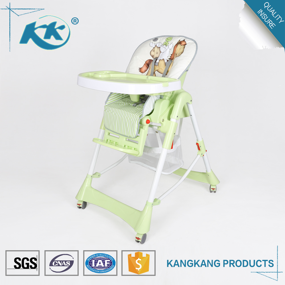 Multifunction cheap wholesale folding height adjustable plastic 3 in 1 child eating sitting feeding kid high baby chair