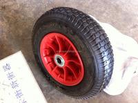wheelbarrow rubber wheel with metal rim, pneuamtic tire 4.50-8