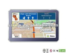 portable car gps with atv,avin,bluetooth,wireless camera optional function