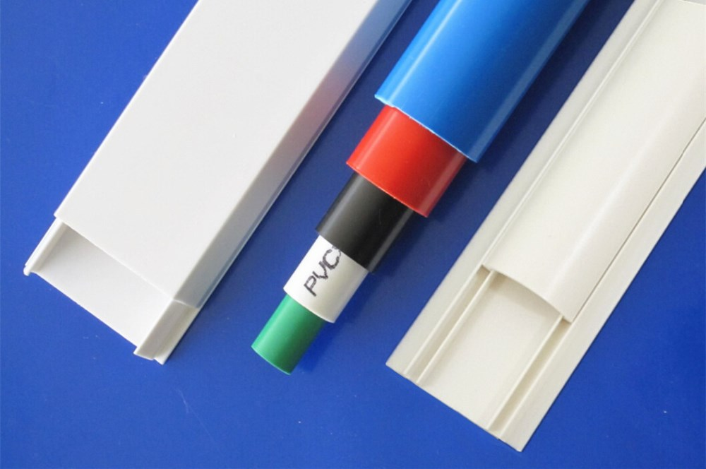 Pvc Cable Specification : Pvc cable channel wire duct black trunking