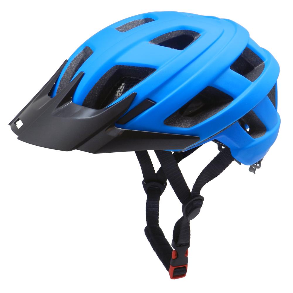 Fashion mountain bike helmet with visor bicycle adult cycling helmet 3