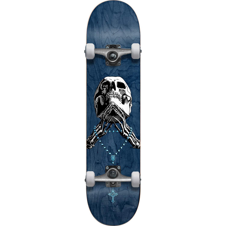 "Blind Skateboards Tribute Rosary Blue Complete Skateboard - 8"" x 31.6"""