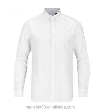 a46fbfae6 Venta al por mayor blanco 100% camisas de algodón para hombres clásico de  los hombres