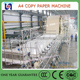 Good quality and easy operation computer office a4 copy paper making machine cost manufacturer used for paper