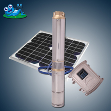4 inch 110v multistage pump solar power system home deep well pump submersible solar powered water pump