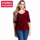 2012# Modest Fashion Girl Latest Cotton Lady Blouse Tops Designs Office Sexy Tunics For Dubai Muslim Women Clothing