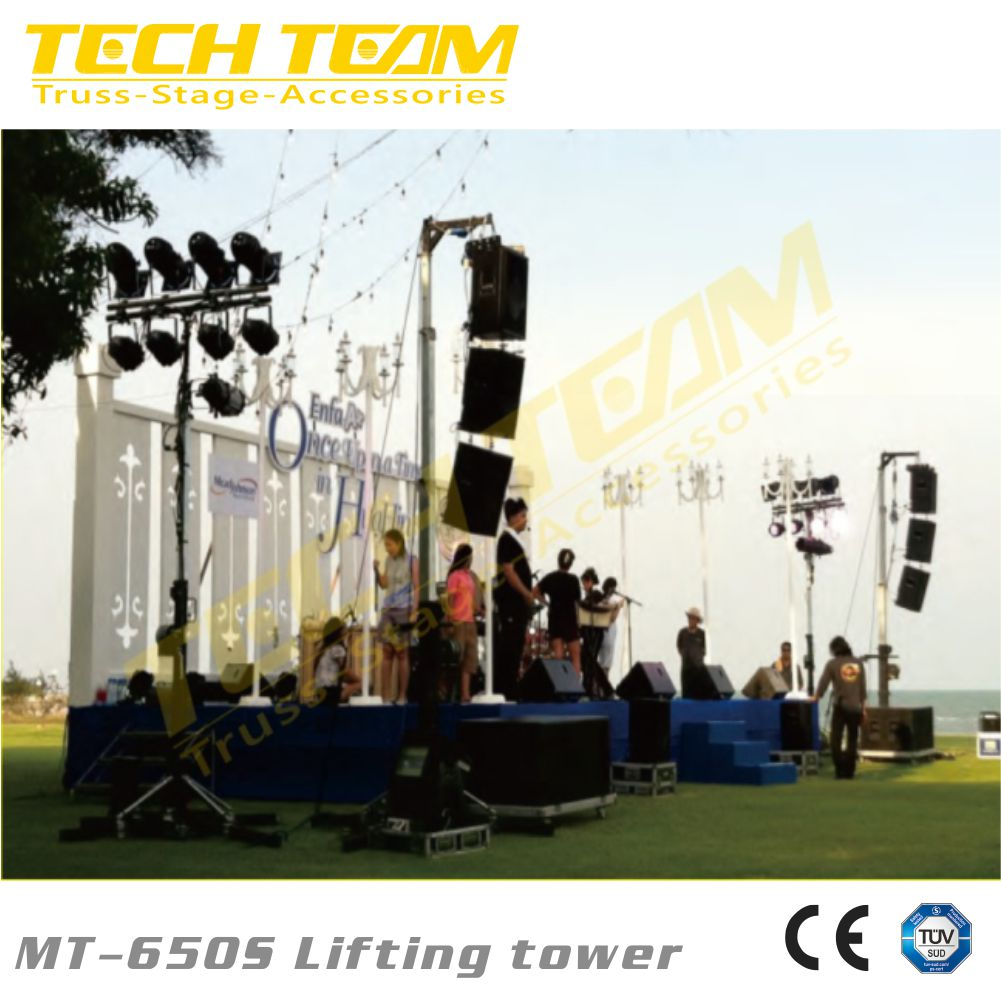 Heavy Duty Truss Lifting Tower MT-650S tower stand