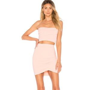 8d8364516506a DS180725 sexy girl mini skirt Jersey pleated wrap women Skirt 2018 crop top  2 piece set women clothes hot sell trending short