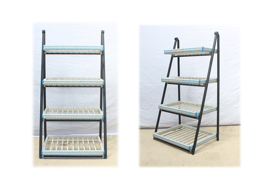 Rattan Flower shelf/JHC-T101/rattan outdoor furniture