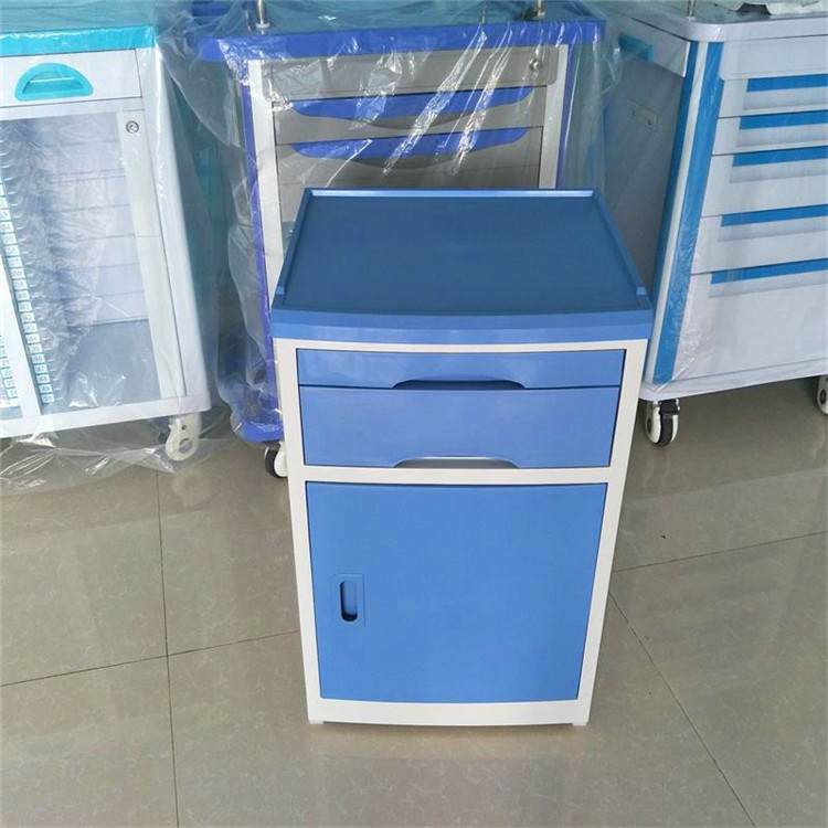 ABS bedside cabinet factory direct with high quality medical bedside table