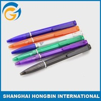 Plastic Banner Ball Pen Promotion Logo Factory Price Cheap Banner Pen