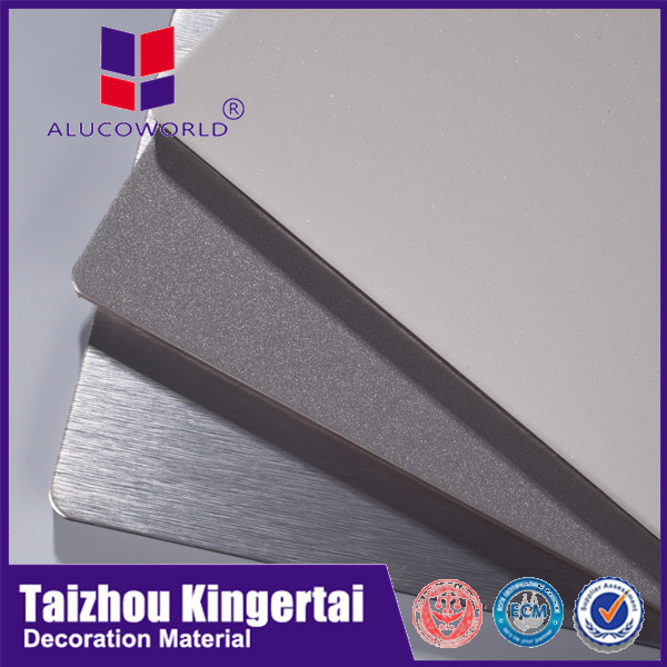 Alucoworld new design excellent in cushion effect outstanding features easy to use aluminium composite panel toyo