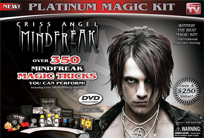 Criss Angel Platinum Magic Kit, Black