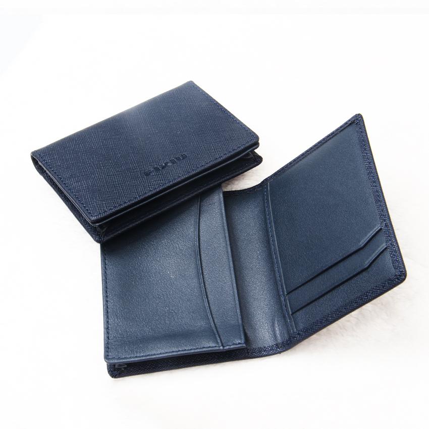 RFID 비즈니스 정품 가죽 신용 카드 홀더