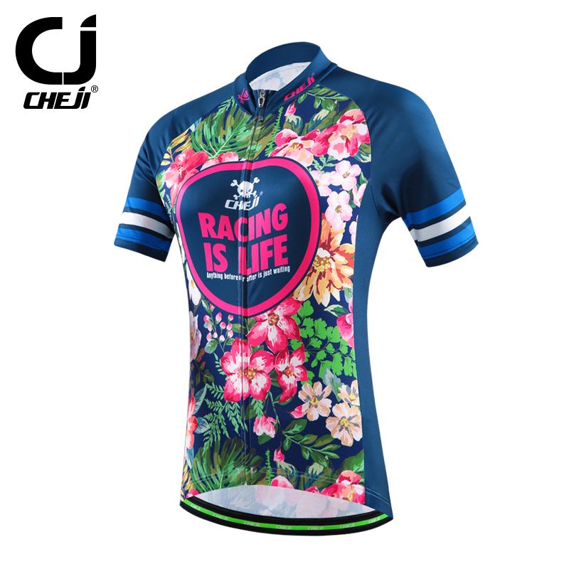2016 cheji womens <strong>specialized</strong> / custom cycling tops cycling jersey quickly vents perspiration outdoor wear