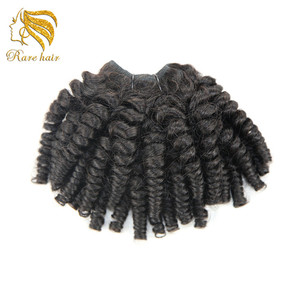 Beauty Braid Gel Comb Afro Puff Curly Cheveux Humain Hair in Bangkok,Crochet Braid Twist Hair Faux Locs Short Hair Attachement