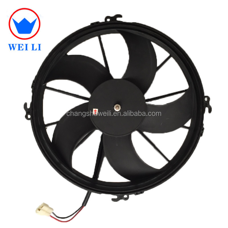 China factory <strong>manufacturing</strong>,plastic, black, 5 curve blades, ac condenser fan