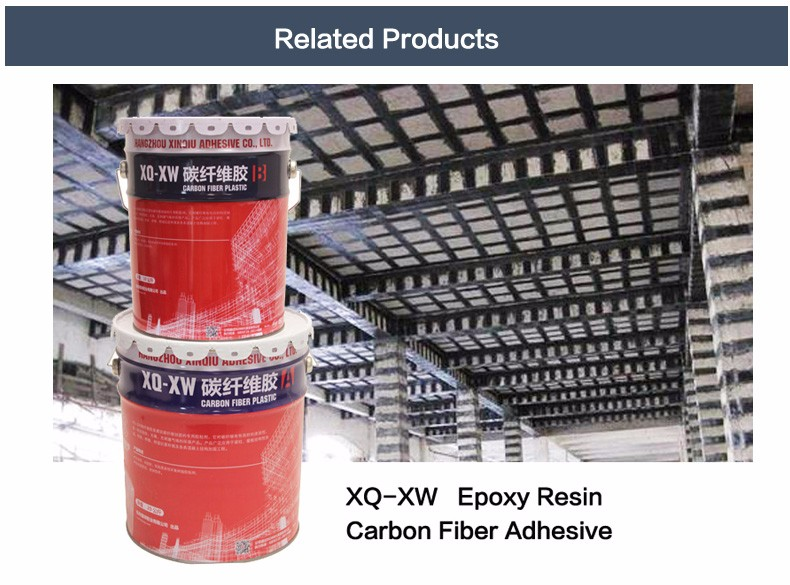 carbon fiber fabric sticking adhesive for construction reinforcement
