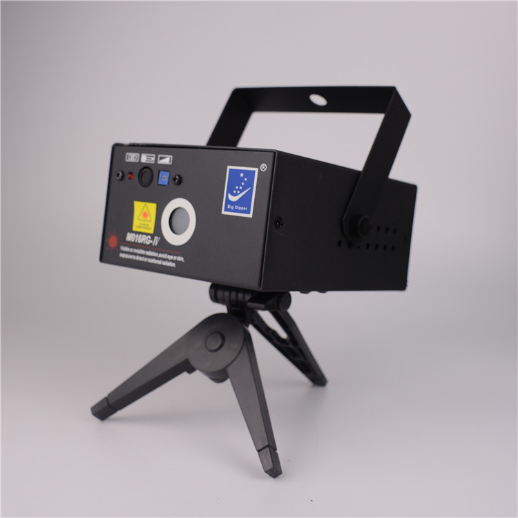 Stage laser light with petal laser and the meteor shower gobo for mobile dj gigs Xmas birthday party bar club and musical
