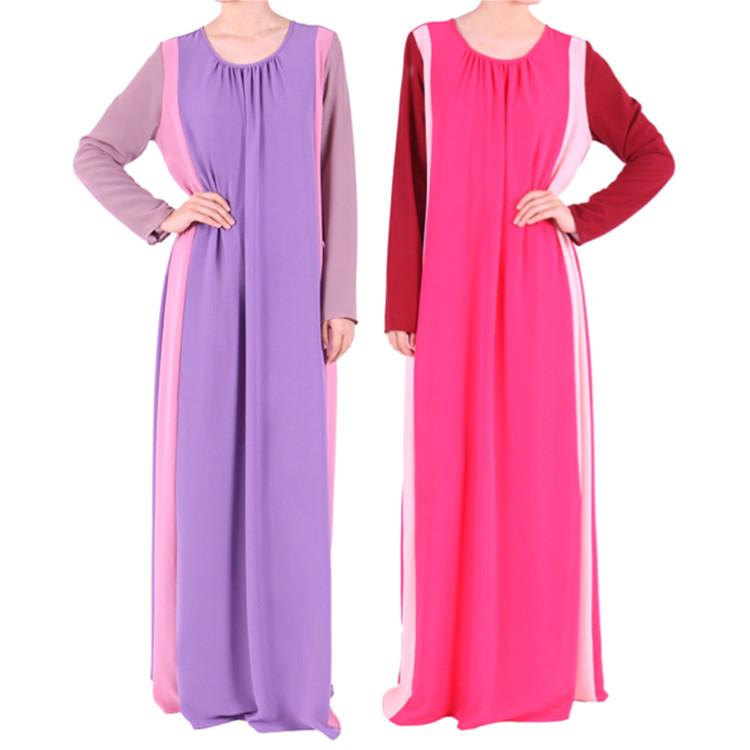 ec5f6e9159fdc Get Quotations · 2015 Muslim abaya dress islamic abaya fashionable chiffon  abaya dubai kaftan muslim clothing plus size hijab