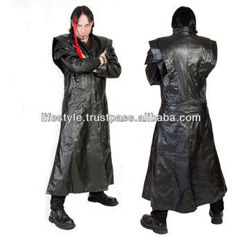 Gothic Kleding.Gothic Kleding Jassen Gothic Punk Jas Gothic Lederen Jas Gothic