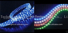 LED flat 2 lines rainbow rope,led holiday light Led decoration lights