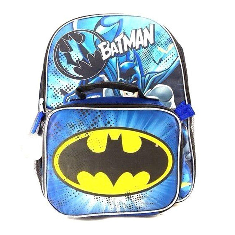 ac76fab20c1a Buy DC Comics Batman Backpack with Lunch Bag - 16