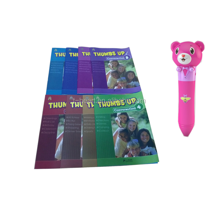 English Conversation Kids Speaking Sounds Talking Pen Books - Buy Talking  Pen Book,Talking Pen Book Speaking Book For Kids,Kids English Talking Pen