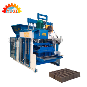 Italy Automatic Concrete Block Making Machine 6 Inches Hollow Block Making Machine Brick Block Making Machine