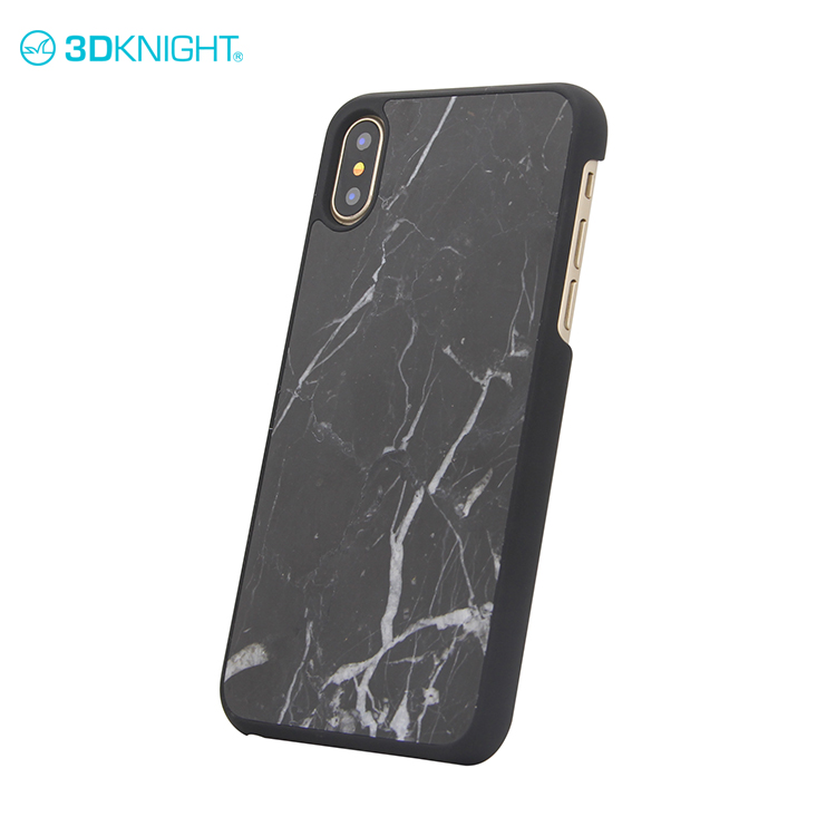 Natural marble smart cover dongguan cases marble for iphone X custom phone case with initials