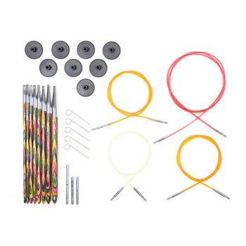 Cheap circular knitting needle set for knitting and crochet