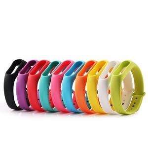 For xiaomi mi band 2 straps, rubber silicone wristband watch band for xiaomi mi band 2