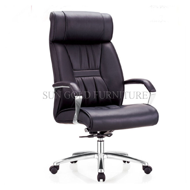 Swivel lift executive office chair with metal structure(SZ-OC119)