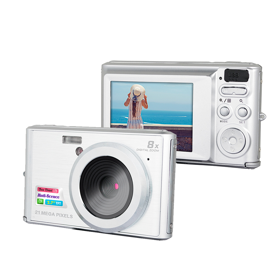 cheapest photo camera 2.4'' TFT LCD 18MP digital camera for Christmas gift disposable camera