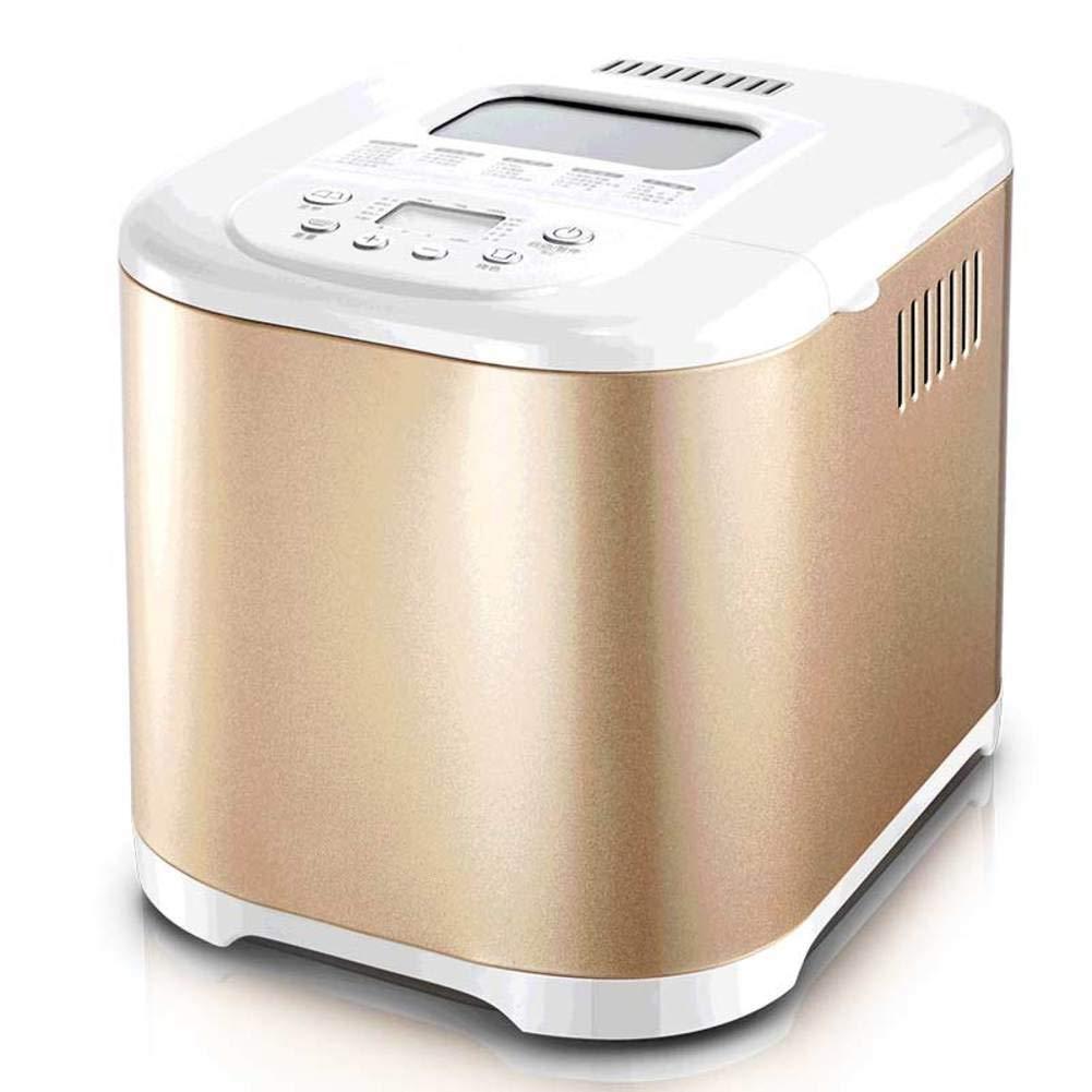 LJ-MBJ Bread Machine, Household Automatic Intelligence Breadmaker, Multifunction Breakfast Grilled Toaster, Cake Yogurt Dough kneading Machine Bread Baking Machine-A