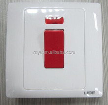 Y-L45K BS approved 45A DP switch