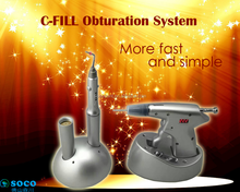 SOCO Hot sell Good quality C-fill B back Wireless handpiece easy to use teeth cordless gutta percha obturation system