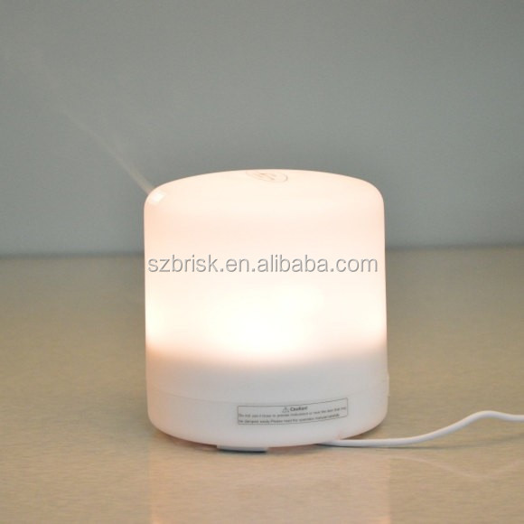 Ultrasonic Diffuser for Essential Oils Essence - Aromatherapy with Light Therapy. Rechargeable