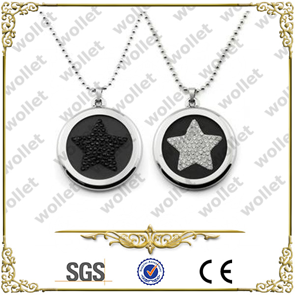 Healthy Fashion Round CZ Stone Scalar Bio Energy Pendant