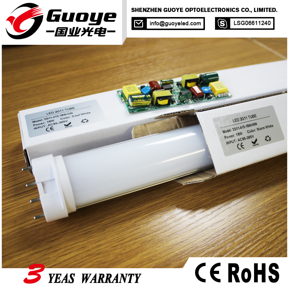 Distributor offer 2g11 55w price led tube light t5 for indoor using