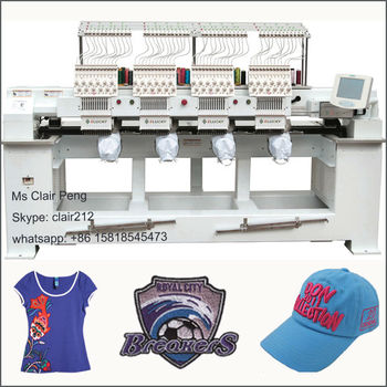Cheap Embroidery Machine Sale For Cap T Shirt Flat Embroidery View