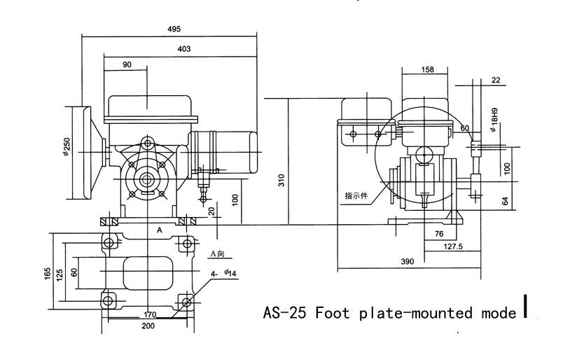 Oa 25k30h Electric Motorized Louver Damper Rotary Valve