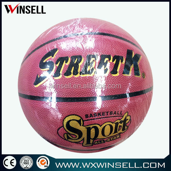 China wholesale blank walking wall basketball