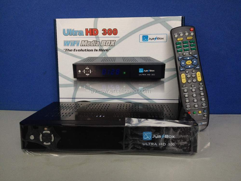 jyazbox ultra <strong>HD</strong> v300 <strong>satellite</strong> <strong>tv</strong> receiver with turbo 8psk Qpsk free shipping to puerto rico and canada 7pcs/lot