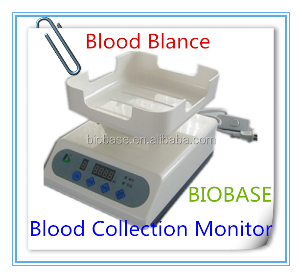 blood balance blood colletion monitoring device